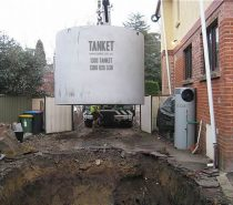 Concrete Water Tank Excavations